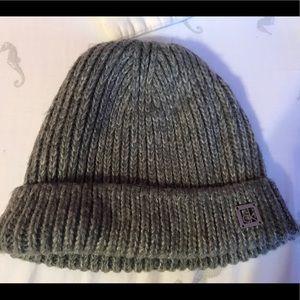Calvin Klein Gray Beanie Hat